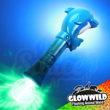 Dolphin Mega Flashing Animal Wand