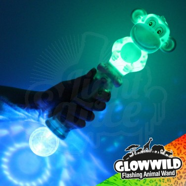 Monkey Mega Flashing Animal Wand