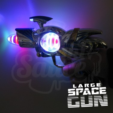 Flashing Space Gun Large Wholesale