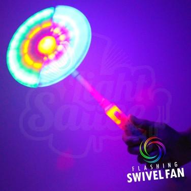 Flashing Swivel Fan