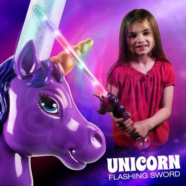 Flashing Unicorn Sword