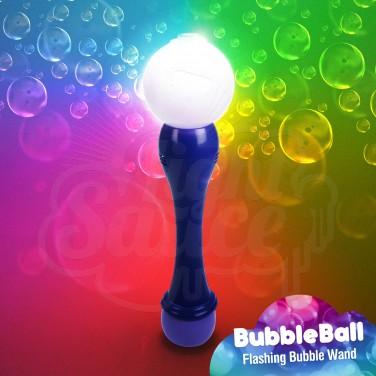 Flashing Bubble Ball Wand