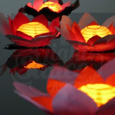 Chinese Floating Flower Lanterns