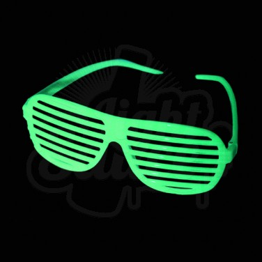 Glow In The Dark Shutter Shades Glow Stick Novelties