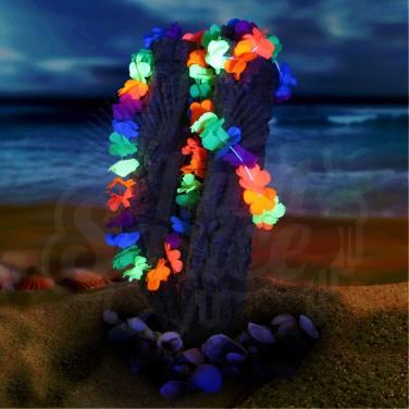 Neon Hawaiian Lei Set