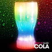 Light Up Coke Glass