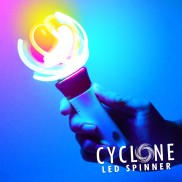 Flashing Cyclone Spinner