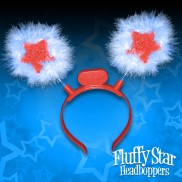 Furry Star Head Boppers