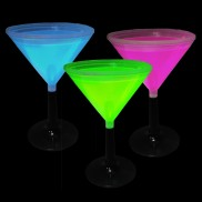 Glow Martini Cups (Retail)